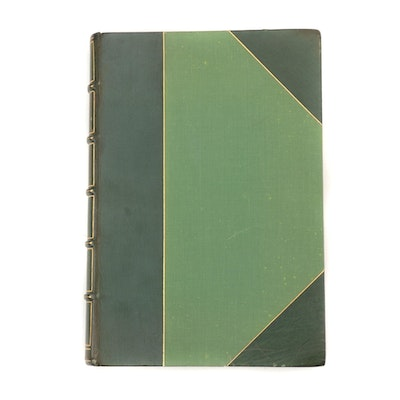 """Limited Edition """"Les contemplations"""" by Victor Hugo, 1958"""
