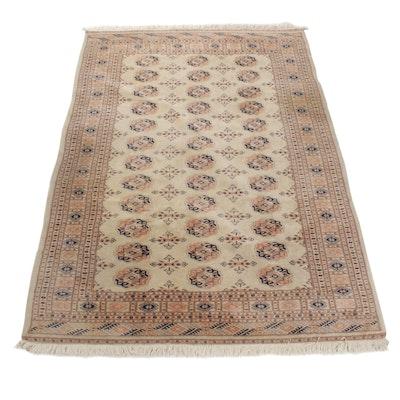 6'5 x 9'2 Hand-Knotted Persian Bohkara Rug