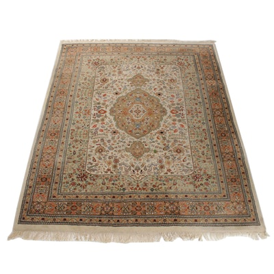 7'11 x 10'4 Hand-Knotted Persian Heriz Rug