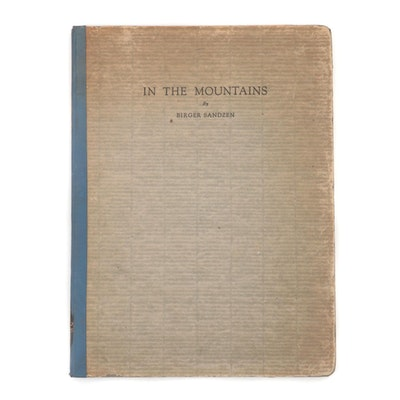 "Limited Edition ""In the Mountains"" by Birger Sandzen, 1925"