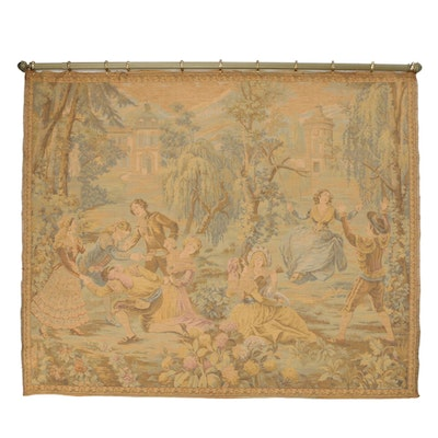 Machine-Woven Jacquard Composite Tapestry after Francisco Goya