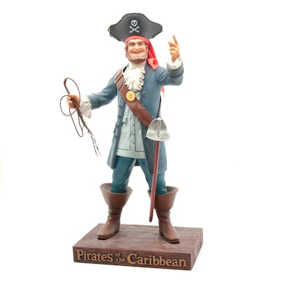 """Disney's Pirates of the Caribbean """"The Auctioneer"""" 50th Anniversary Figurine"""