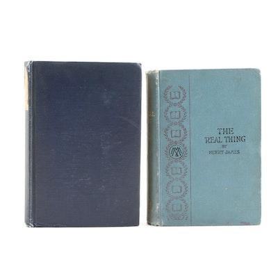 "Henry James Short Stories Including 1919 Limited Edition ""A Landscape Painter"""