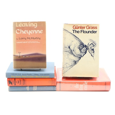"""Fiction Books Including First Editions """"Leaving Cheyenne"""" and """"The Flounder"""""""