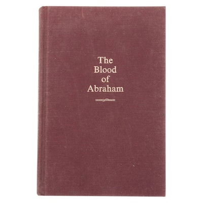 "Signed First Edition ""The Blood of Abraham"" by Jimmy Carter, 1985"
