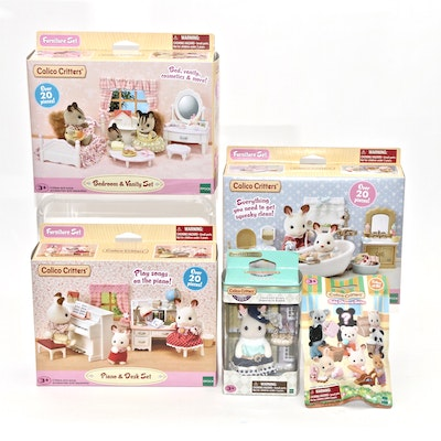 Calico Critters Furniture Sets, Accessories and Figurine