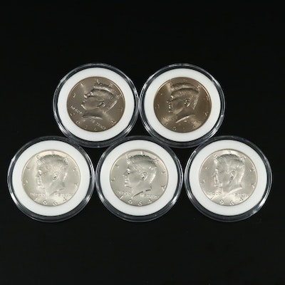 50th Anniversary JFK Half Dollars From National Collectors Mint 1964-2014