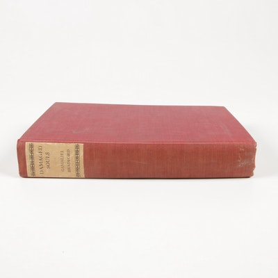 "Signed First Edition ""Damaged Souls"" by Gamaliel Bradford, 1923"