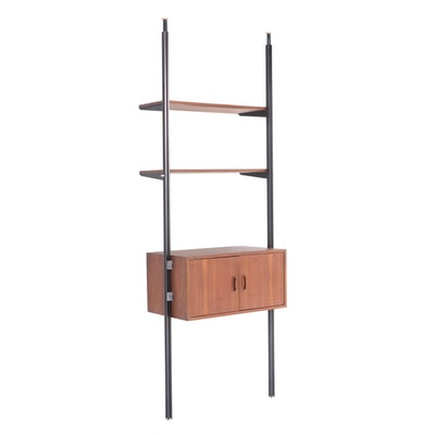 George Nelson Tension-Mounted Wall Cabinet, Mid 20th Century