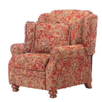 Jackson Catnapper Paisley Chenille Upholstered Recliner