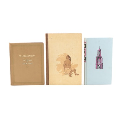 "Limited Edition Novels Including Signed ""Zuleika Dobson"" by Max Beerbohm"
