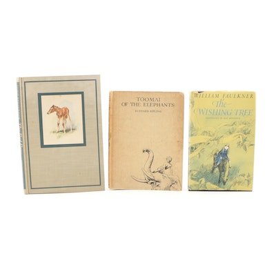John Steinbeck, Rudyard Kipling and William Faulkner Children's Books