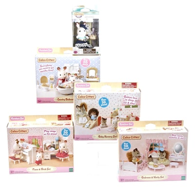 Calico Critters Furniture Sets and Figurine