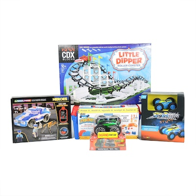 """CDX """"Little Dipper"""" Roller Coaster Kit, Dyno RC Stunt Car, and Other Toys"""