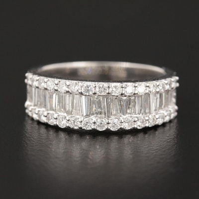 18K White Gold 1.48 CTW Diamond Ring