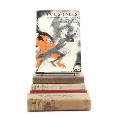 "Arthur Rackham Illustrated Books featuring ""Tales of Mystery & Imagination"""