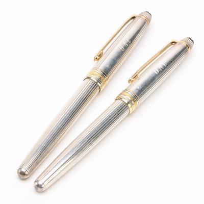 """Montblanc Meisterstück Sterling """"Solitaire"""" Classique Pens"""