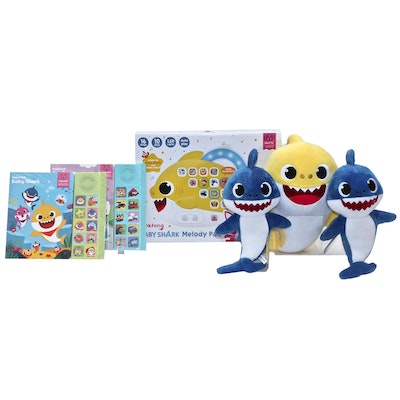 """""""Baby Shark"""" Melody Pad, Sound Books and Sound Plush Toys by Pinkfong"""