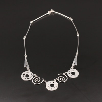 Mexican Sterling Silver Necklace