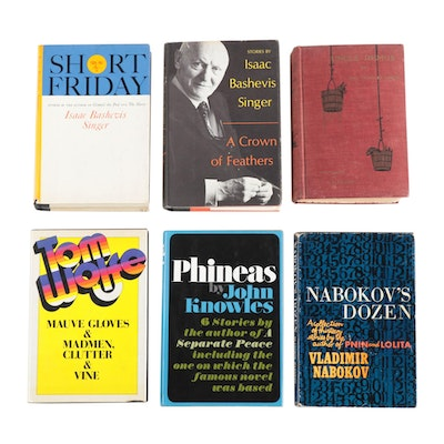 Short Story Collections Including Signed Isaac Bashevis Singer Books