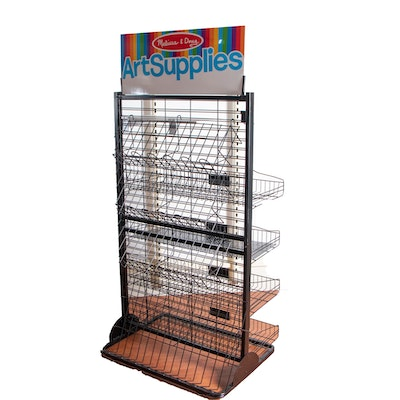 Melissa & Doug Art Supplies Shelving Unit