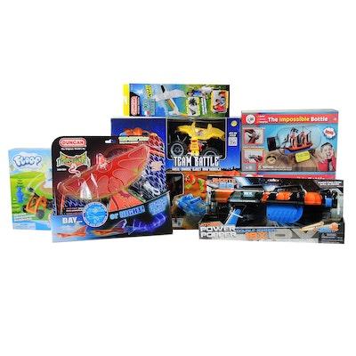 """Monsters Smash-Ups"" Team Battle Cars, Duncan ""Dragon Hawk"" Flyer and More"