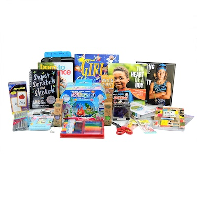 Children's Books, Flash Cards, Stickers, Stationary and More