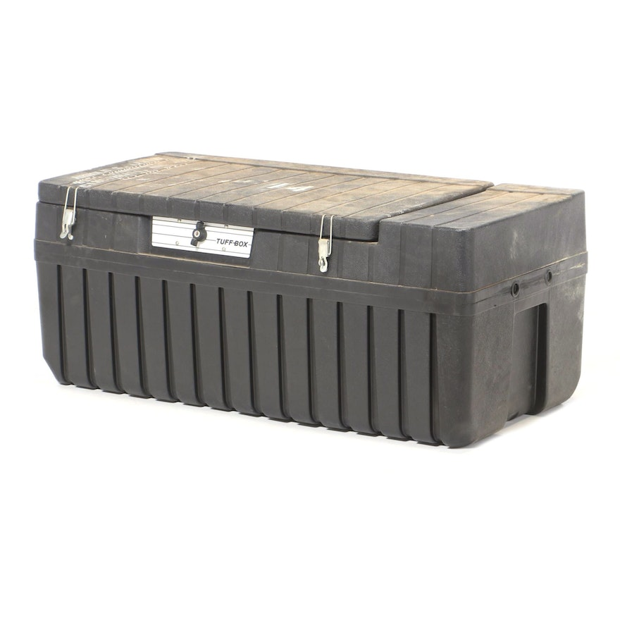 Tuff Box Heavy-Duty Plastic Lockable Tool Storage Box