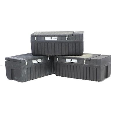Tuff Box Heavy-Duty Plastic Lockable Tool Storage Boxes