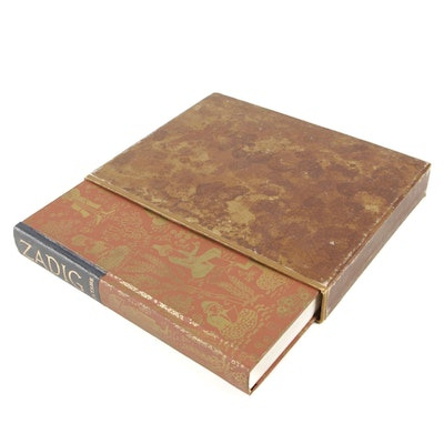 """Limited Edition """"The History of Zadig; or, Destiny"""" by Voltaire, 1952"""