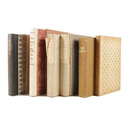 "Limited Edition Classics Including ""Pride and Prejudice"" and ""Tom Jones"""