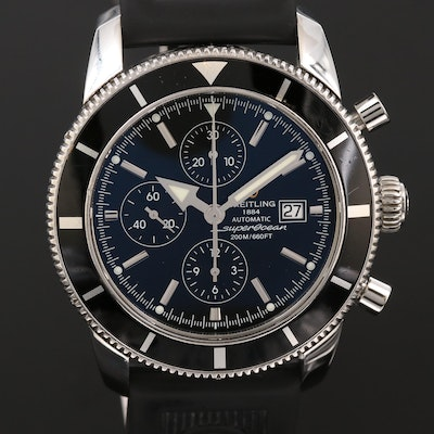Breitling Superocean Heritage Chrono 46 Stainless Steel Automatic Wristwatch