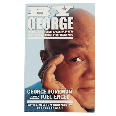 George Foreman Signed Autobiography  COA