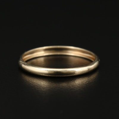 10K Yellow Gold Band