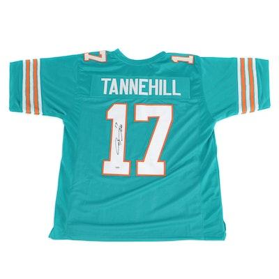 Ryan Tannehill Signed Miami Dolphins Replica Jersey   COA
