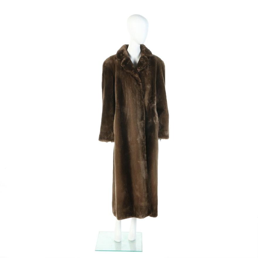 Phantom Sheared Beaver Fur Full-Length Coat from Kastoria Furs of Cincinnati