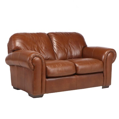 Rapallo Leather Company Loveseat Sofa