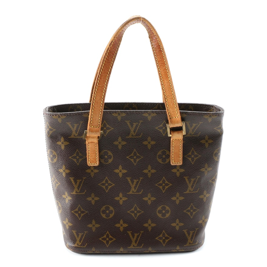 Louis Vuitton Vavin PM Tote in Monogram Canvas and Leather