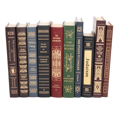 Easton Press Leather Bound Collector's Edition Classics