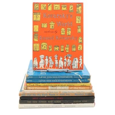 "1956 ""Koversky's World: Cartoons by Anatol Kovarsky"" and Other Cartoon Books"