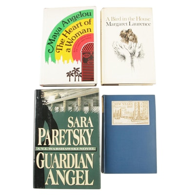 """Fiction Books Including Signed """"A Bird in the House"""" by Margaret Laurence"""