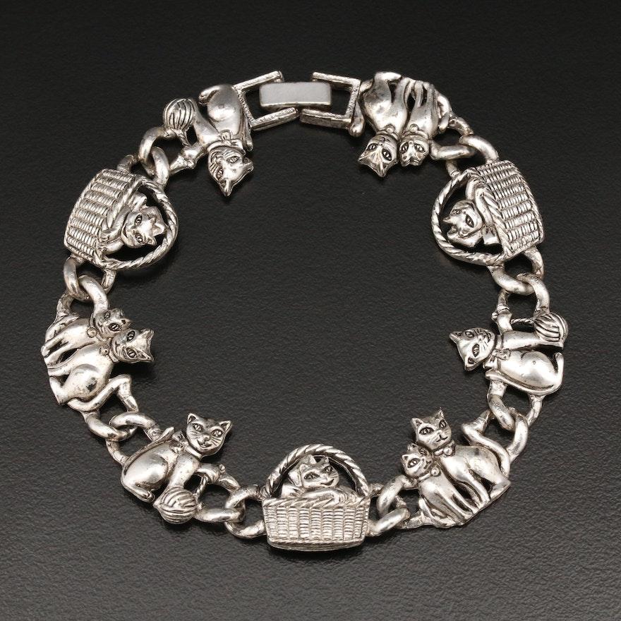 Cat Themed Bracelet
