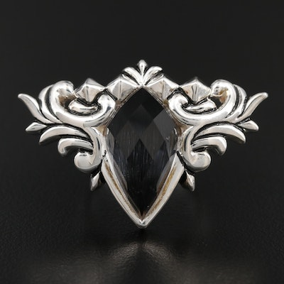 "Stephen Webster ""Baroque Superstud"" Sterling Quartz Doublet Ring"
