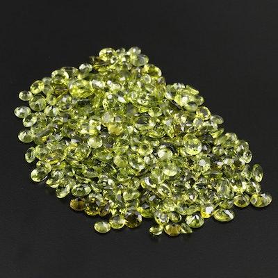 Loose 291.00 CTW Peridot Gemstones