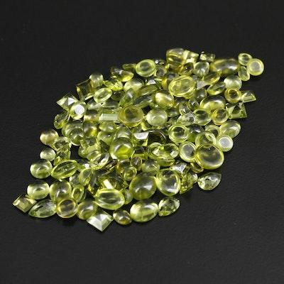 Loose 109.40 CTW Peridot Gemstones