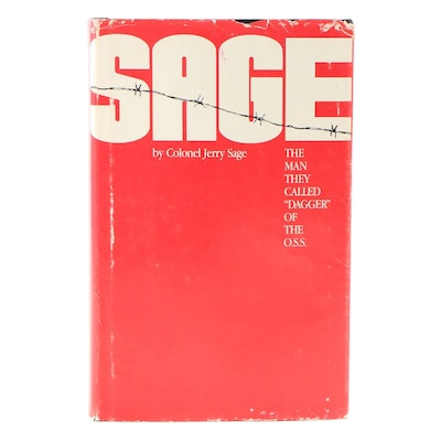"Signed First Edition ""Sage"" by Colonel Jerry Sage"