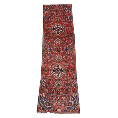 2'6 x 8'9 Hand-Knotted Persian Mehriban Wool Carpet Runner