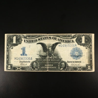 Series of 1899 Blue Seal $1 Silver Certificate