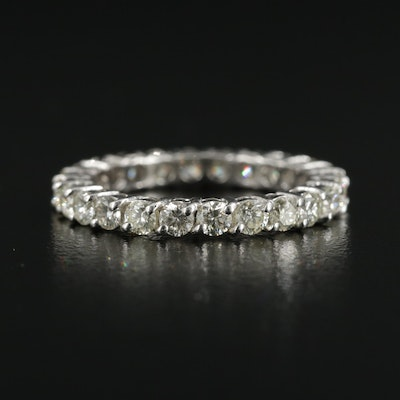 18K White Gold 1.50 CTW Diamond Eternity Band