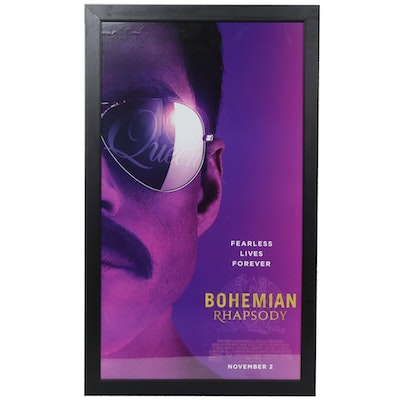 """Bohemian Rhapsody"" Offset Lithograph Theatrical Movie Poster"